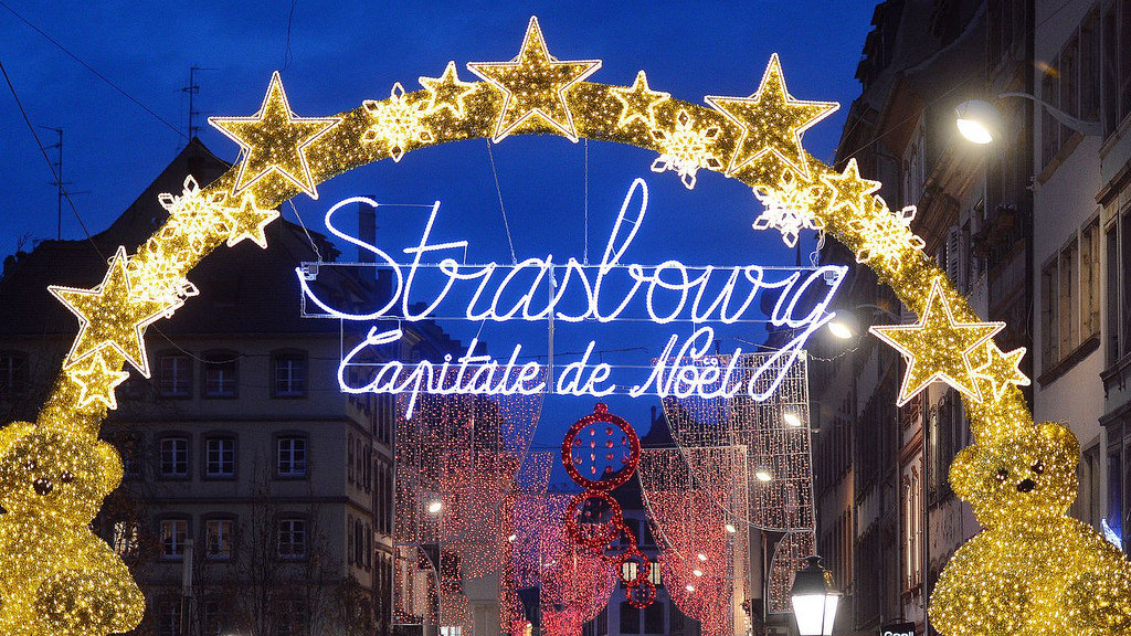 Location à Strasbourg capitale de Noël