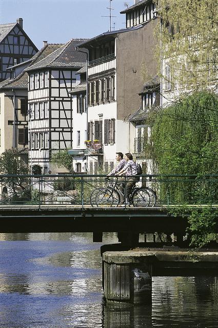 En velo à Strasbourg